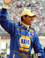 Michael Waltrip Signed NASCAR 8x10 Photo (Beckett COA) at PristineAuction.com