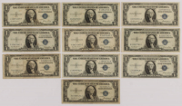 Lot of (10) 1935 $1 One-Dollar U.S. Silver Certificates at PristineAuction.com