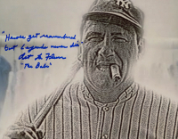 "Art Lafleur Signed ""The Sandlot"" 8x10 Photo Extensive Inscription (ACOA Hologram) at PristineAuction.com"