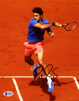 Roger Federer Signed 8x10 Photo (Beckett COA) at PristineAuction.com