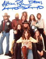 "Artimus Pyle Signed Lynyrd Skynyrd 8x10 Photo Inscribed ""Lynyrd Skynyrd"" & ""Drums"" (ACOA Hologram) at PristineAuction.com"