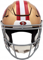 Jimmy Garoppolo Signed 49ers Full-Size Authentic On-Field SpeedFlex Helmet (TriStar Hologram) at PristineAuction.com