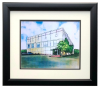 """The Office """"Dunder Mifflin"""" 16x20 Custom Framed Print Display at PristineAuction.com"""