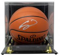 Gordon Hayward Signed NBA Game Ball Series Basketball With Display Case (Fanatics Hologram) at PristineAuction.com