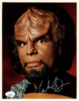 "Michael Dorn Signed ""Star Trek: The Next Generation"" 8x10 Photo (JSA COA) at PristineAuction.com"