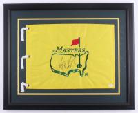 Vijay Singh Signed Masters 22x27 Custom Framed Master's Pin Flag Display (JSA COA) at PristineAuction.com