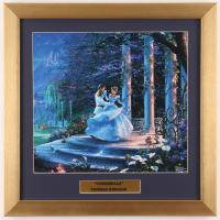 "Thomas Kinkade ""Cinderella"" 16x16 Custom Framed Print Display at PristineAuction.com"