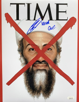 """Robert J. O'Neill Signed Time Magazine 8x10 Photo Inscribed """"Never Quit!"""" (JSA COA) at PristineAuction.com"""