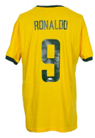 Ronaldo Signed Team Brazil Nike Jersey (Beckett COA) at PristineAuction.com
