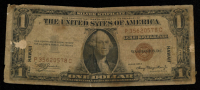 1935-A $1 One Dollar Hawaii Brown Seal Silver Certificate Bank Note Bill at PristineAuction.com