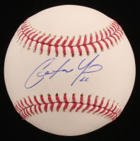Christian Yelich Signed OML Baseball (PSA COA) at PristineAuction.com
