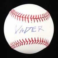 Big Van Vader Signed OML Baseball (JSA COA) at PristineAuction.com