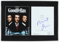 "Robert De Niro Signed ""GoodFellas"" 13.5x19.5 Custom Framed Movie Script Cover Display (AutographCOA LOA) at PristineAuction.com"