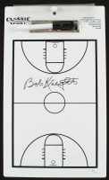 Bobby Knight Signed Basketball Diagram Clipboard (JSA COA) at PristineAuction.com