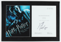 "Daniel Radcliffe Signed ""Harry Potter & The Half Blood Prince"" 13.5x19.5 Custom Framed Movie Script Cover Display (AutographCOA Hologram) at PristineAuction.com"