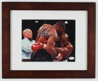 Mike Tyson Signed 13.5x16.5 Custom Framed Photo (JSA COA) at PristineAuction.com
