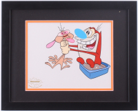 """Nickelodeon's """"The Ren & Stimpy Show"""" 12.5x15.5 Custom Framed Serigraph Display at PristineAuction.com"""