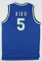 "Jason Kidd Signed Mavericks Jersey Inscribed ""HOF 18"" (JSA COA) at PristineAuction.com"