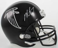 Michael Vick Signed Falcons Full-Size Helmet (JSA COA) at PristineAuction.com