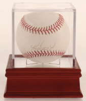 Ken Griffey Jr. Signed OAL Baseball WIth High Quality Display Case (PSA COA) at PristineAuction.com