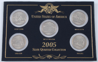 2005 US Statehood Quarter Collection with (5) Coins at PristineAuction.com