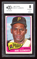 Roberto Clemente 1965 Topps #160 (BCCG 8) at PristineAuction.com