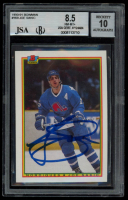 Joe Sakic Signed 1990-91 Bowman #169 (BGS Encapsulated) at PristineAuction.com