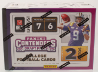 2020 Panini Contenders Draft Picks Football Blaster Box with (7) Packs at PristineAuction.com