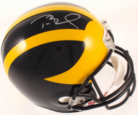 Tom Brady Signed Michigan Wolverines Full-Size Helmet (TriStar Hologram) at PristineAuction.com