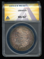 1904-O $1 Morgan Silver Dollar (ANACS MS62) at PristineAuction.com