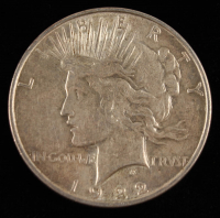 1922-D $1 Peace Silver Dollar at PristineAuction.com