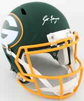 Brett Favre Signed Packers Full-Size AMP Alternate Speed Helmet (Schwartz COA) at PristineAuction.com