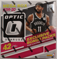 2019/20 Panini Donruss Optic Basketball Card Mega Box With (8) Packs at PristineAuction.com