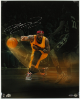 LeBron James Signed Cavaliers 16x20 Photo (UDA Hologram) at PristineAuction.com