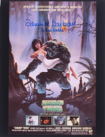 """Adrienne Barbeau Signed """"Swamp Thing"""" 10x13 Photo Inscribed """"Alice Cable"""" (Legends COA) at PristineAuction.com"""