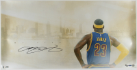 LeBron James Signed LE Cavaliers 18x36 Photo (UDA Hologram) at PristineAuction.com