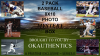 OKAUTHENTICS 2 Pack Baseball 8x10 Mystery Box Series II at PristineAuction.com