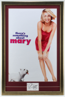 """Cameron Diaz Signed """"There's Something About Mary"""" 25x37 Custom Framed Cut Display with Movie Poster (JSA COA) at PristineAuction.com"""