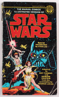 """Vintage 1977 """"Star Wars"""" Original First Issue Marvel Illustrated Softcover Book at PristineAuction.com"""