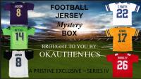 OKAUTHENTICS Pro Football Jersey Mystery Box Series IV at PristineAuction.com
