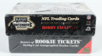 2000 Playoff Contenders Football Hobby Box with (12) Packs; Find The Tom Brady Rookie Ticket Autographed Rookie Card! at PristineAuction.com