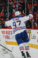 Connor McDavid Signed Oilers 12x18 Photo (JSA COA) at PristineAuction.com
