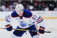 Connor McDavid Signed Oilers 12x18 Photo (JSA COA) at PristineAuction.com