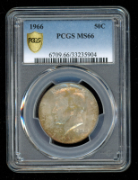 1966 50C Kennedy Half Dollar (PCGS MS66) at PristineAuction.com