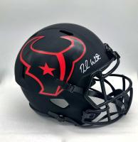 Deshaun Watson Signed Texans Full-Size Eclipse Alternate Speed Helmet (Beckett COA) at PristineAuction.com