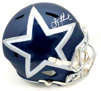 Troy Aikman Signed Cowboys Full-Size AMP Alternate Speed Helmet (Beckett COA & Aikman Hologram) at PristineAuction.com