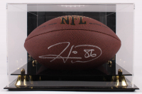 Hines Ward Signed NFL Football With Display Case (Beckett COA) at PristineAuction.com