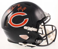 """Brian Urlacher Signed Bears Full-Size Authentic On-Field Speed Helmet Inscribed """"HOF 2018"""" (JSA COA) at PristineAuction.com"""