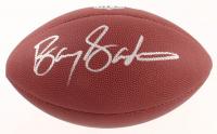 Barry Sanders Signed NFL Football (Schwartz COA) at PristineAuction.com