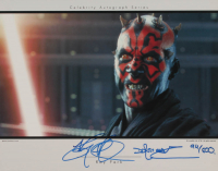 "Ray Park Signed LE ""Star Wars"" 11x14 Photo Inscribed ""Darth Maul"" (AutographCOA Hologram) at PristineAuction.com"